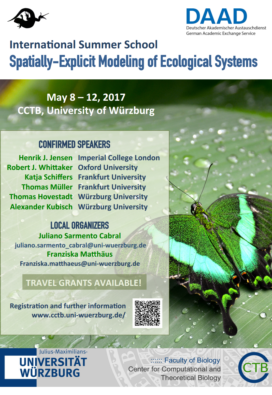 International Summer School - Spatially-Explicit Modeling of Ecological Systems
